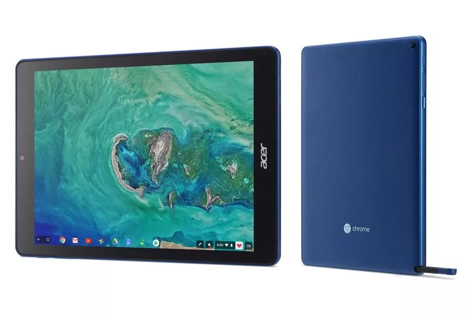 acer chromebook tab-Acerから「Chromebook Tab 10」というChromeOS搭載のタブレットが発表されました。