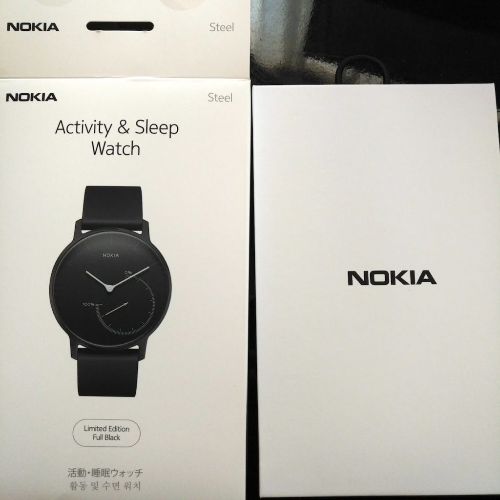 review nokia smartwatch steel4 1024x1024-Nokia(ノキア)のスマートウォッチ「Steel Special Edition」のフルブラックを購入したのでレビュー