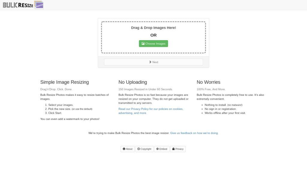 Bulk Resize Photos 1024x623-ChromebookやChromeboxで画像・写真編集、リサイズで使うアプリ4選