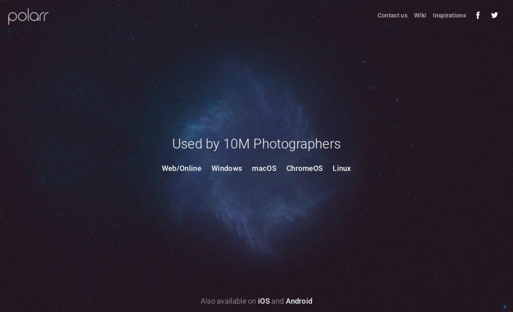 Free Photo Editor I Polarr 1024x623-ChromebookやChromeboxで画像・写真編集、リサイズで使うアプリ4選