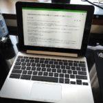 「ASUS Chromebook Flip C101PA」を購入して1ヶ月が経つので改めてレビュー