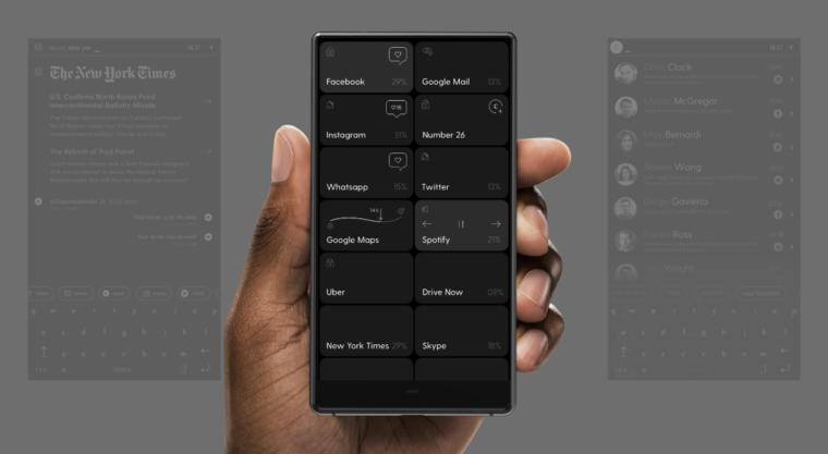 シンプルなスマートフォン「Blloc Phone」がとても気になる。