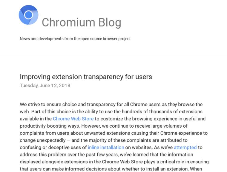 公式ストア以外のChrome拡張機能がインストールできなくなるのでChromebookやChromeboxユーザは気をつけて!