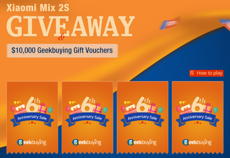 FiCollect Anniversary Cards to Share 10 760x523 1 760x523-Geekbuyingでギフト券と「Xiaomi Mi Mix2S」も当たるかも!000 Gift Vouchers[PR]