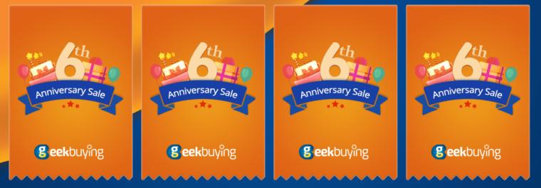 Geekbuyingでギフト券と「Xiaomi Mi Mix2S」も当たるかも!$10000 Gift Vouchers[PR]