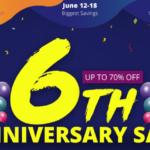 Geekbuyingで6周年記念セール!スマホやタブレットがさらに安くなるお得なクーポンもあるよ。[PR]