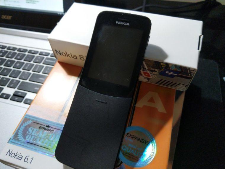 IMG 20180625 210959 1 760x570 1 760x570-ノキアのバナナフォン「Nokia 8110 4G」が届いたので開封と簡単レビュー!日本語化は無理そうだけど…。