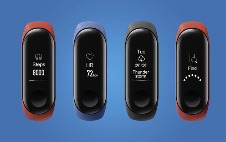 Xiaomi Mi Band 3 01 760x476 1-シャオミのパワーアップした「Xiaomi Mi Band 3」スマートバンドが予約開始!クーポンもあるよ!
