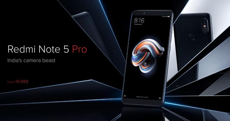 Xiaomi Redmi Note 5 Pro 00 760x400 1-6インチクラスの「Xiaomi Redmi Note 5 Pro」が気になるのでスペックなどまとめ