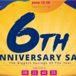 ついに本セール突入!Geekbuyingの6周年記念セールに面白そうな製品が追加されてます。[PR]