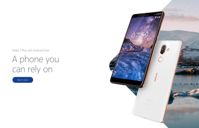 nokia 7 plus image 760x489 1-ノキアがSnapdragon710搭載のスマートフォン「Pheonix」を開発しているようです。