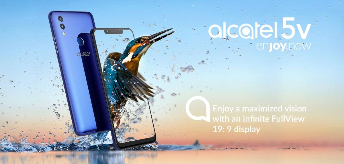 Alcatel 5V-Alcatelからミドルレンジスマホの「Alcatel 5V」がリリースされます。199ドルでコスパ良機種!