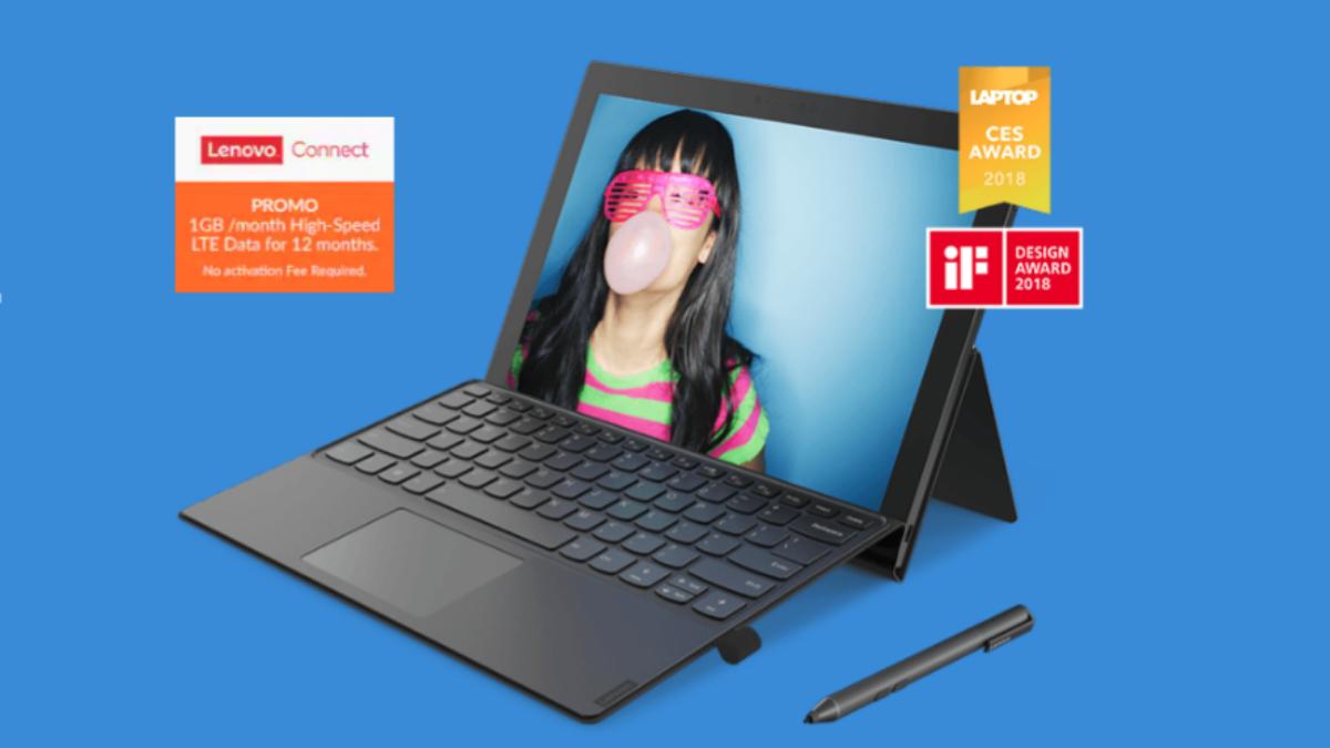 Lenovo Miix 630-ついにLenovoからSnapdragon搭載の「Miix 630」がリリースされました!Surface対抗のキーボード着脱式2in1ノートパソコン!
