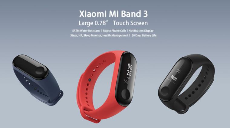 Xiaomi Mi Band 3 01 760x423 1-シャオミのスマートバンド「Xiaomi Mi Band 3」が届いたので実機レビュー!