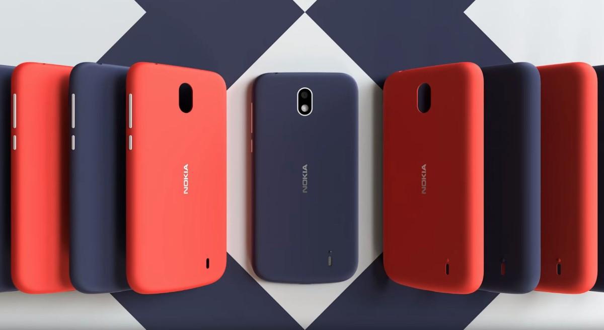 ノキアのエントリースマホ「Nokia 1」はAndroidGoを搭載して低価格!