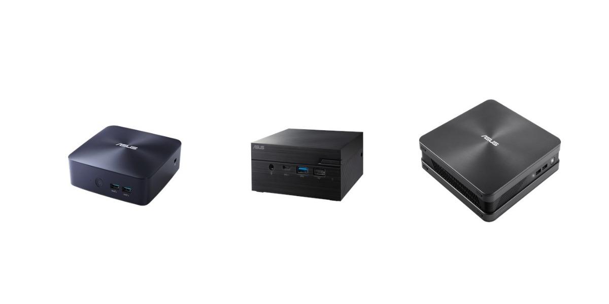 ASUSが小型デスクトップ3機種、「VivoMini VC65」・「VivoMini UN68U」・「Mini PC PN60」を発表しました。