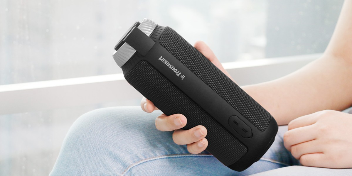 Tronsmart Element T6 25W Portable Bluetooth Speaker Red-Tronsmart ElementのBluetoothスピーカー「T6」と「Mega」がGeekbuyingでクーポンセール中!