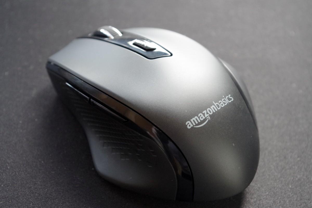 AmazonBasics Wireless mouse 00-Amazonベーシックの「ワイヤレスマウス 5ボタン DPI調節可能」なマウスを購入したのでレビュー