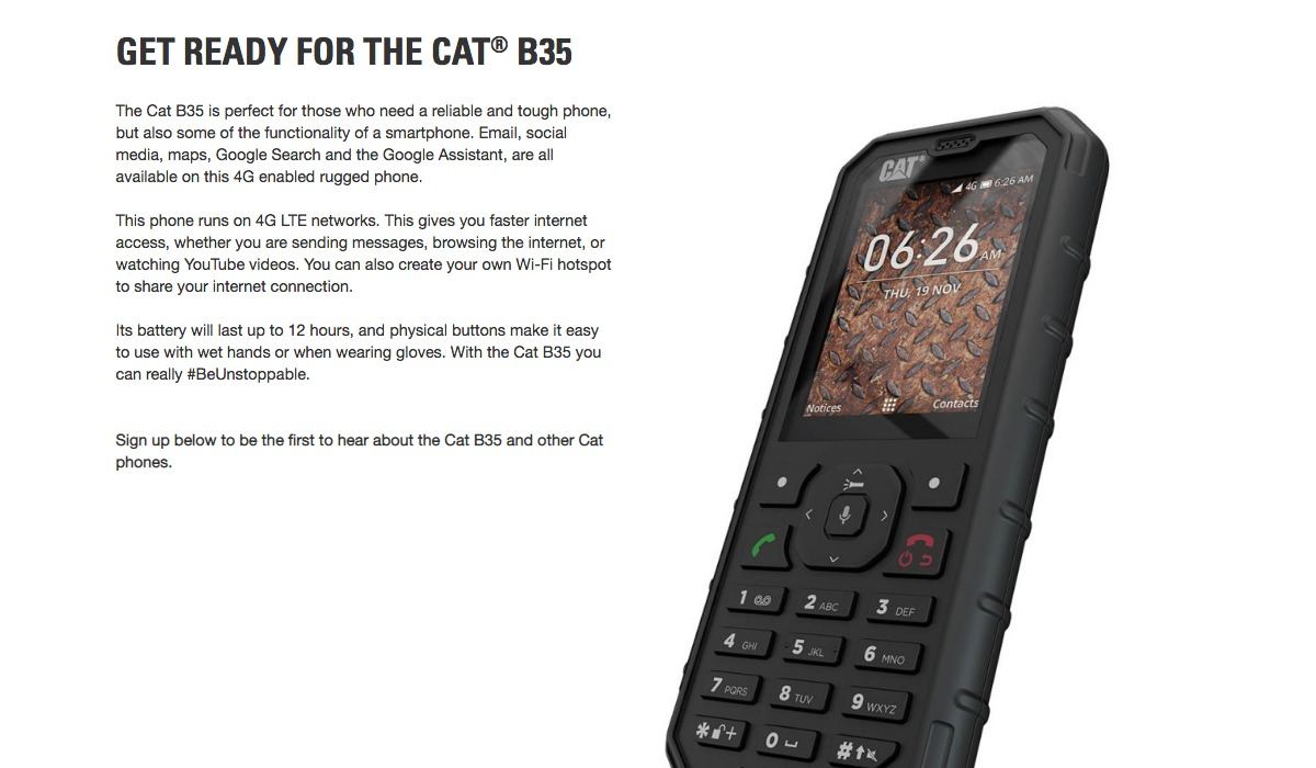 Cat_B35_Mobile_Phone