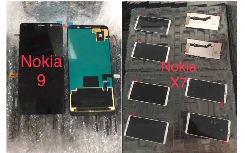 nokia 9 and nokia x7 leak