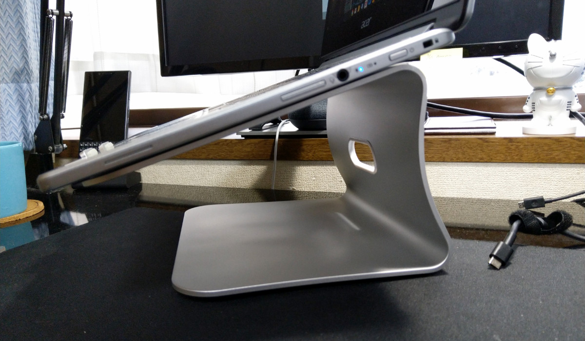review spinido pc stand 00