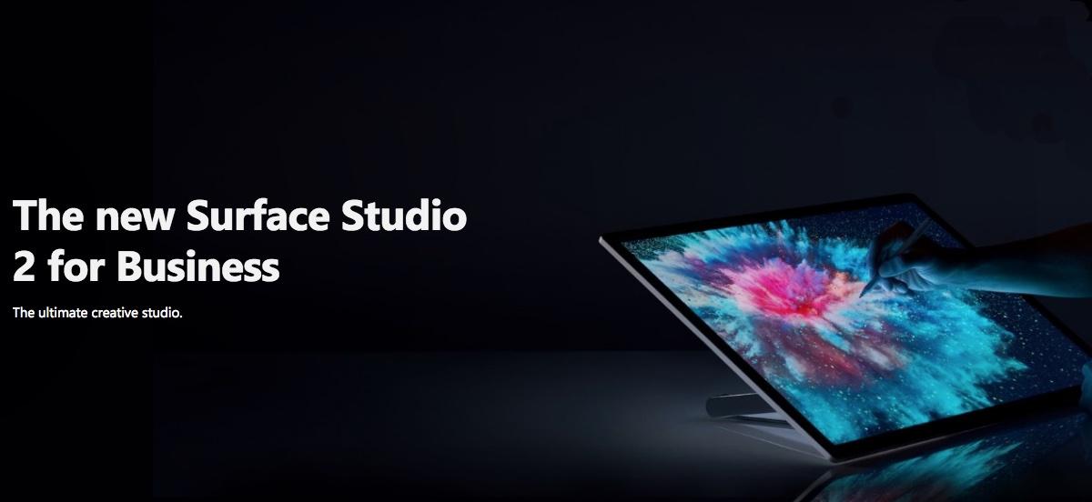 4c2ec67d8a4308feb39f6ab4744cc7e5-クリエイター向けの「Surface Studio 2」も発表!日本向けは今のところなし…。
