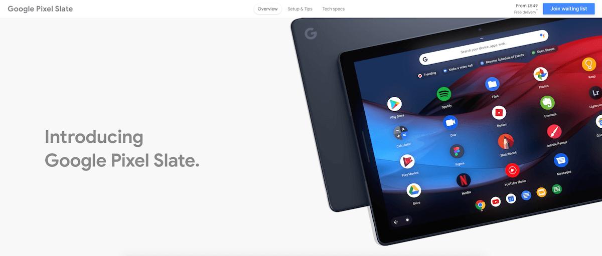 Google Pixel Slate   Google Assistant Tablet   Google Store-ついにGoogleからChromeOSタブレット「Pixel Slate」が発表となりました!