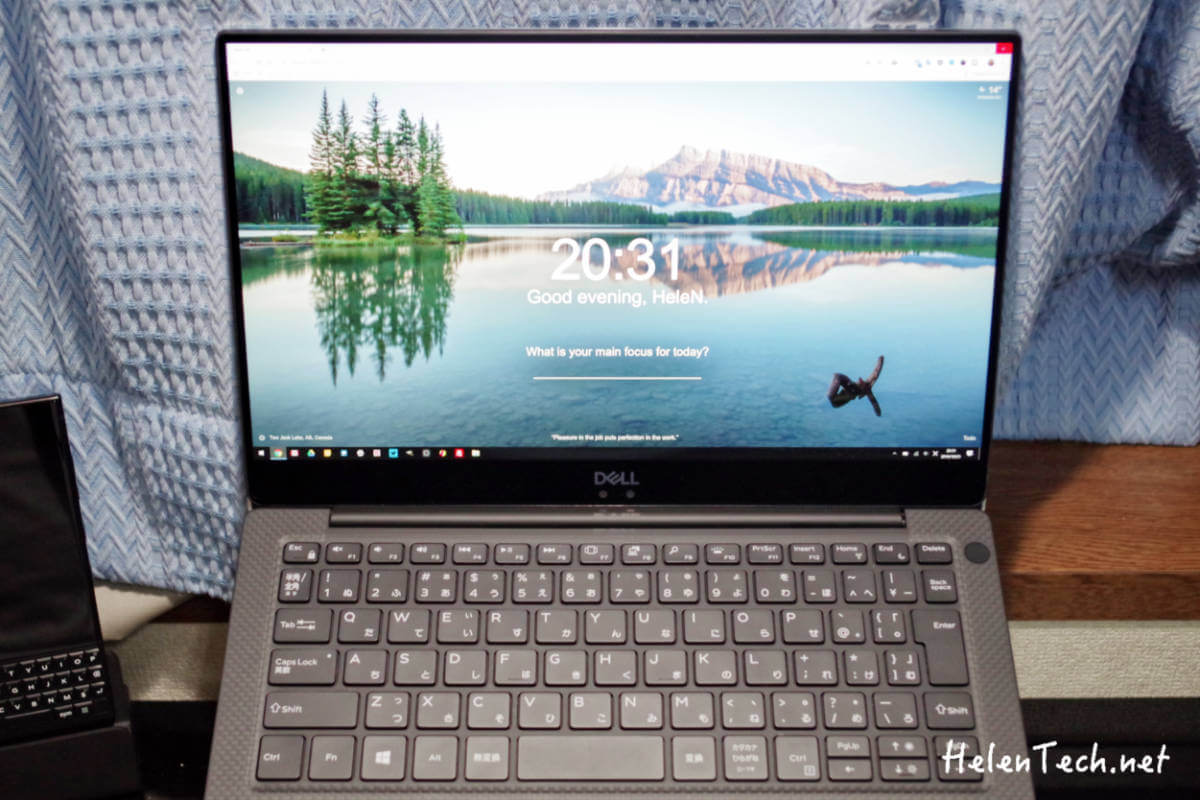 review XPS13 topimage
