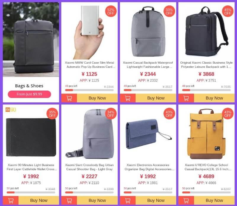 1111 Geekbuying sale bag