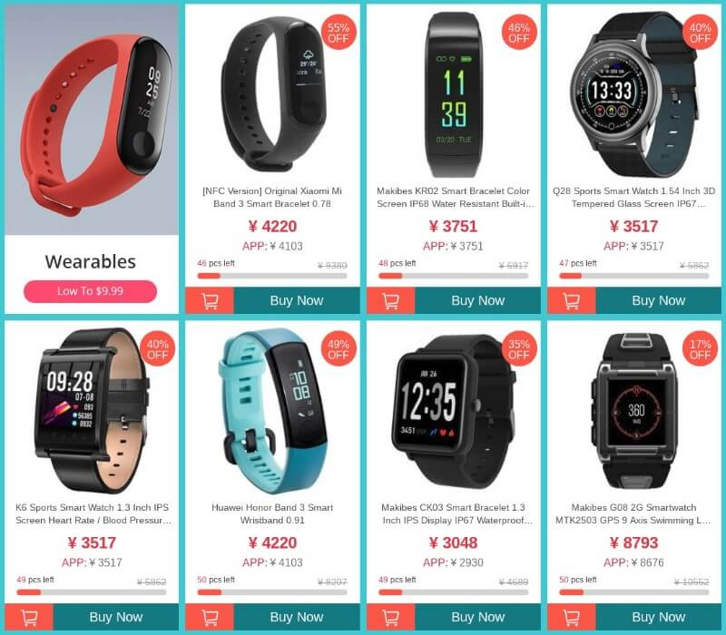 1111 Geekbuying sale smartwatch