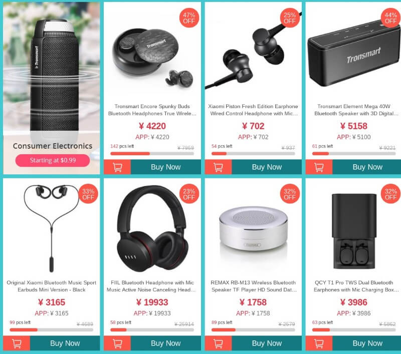 1111 Geekbuying sale spearker
