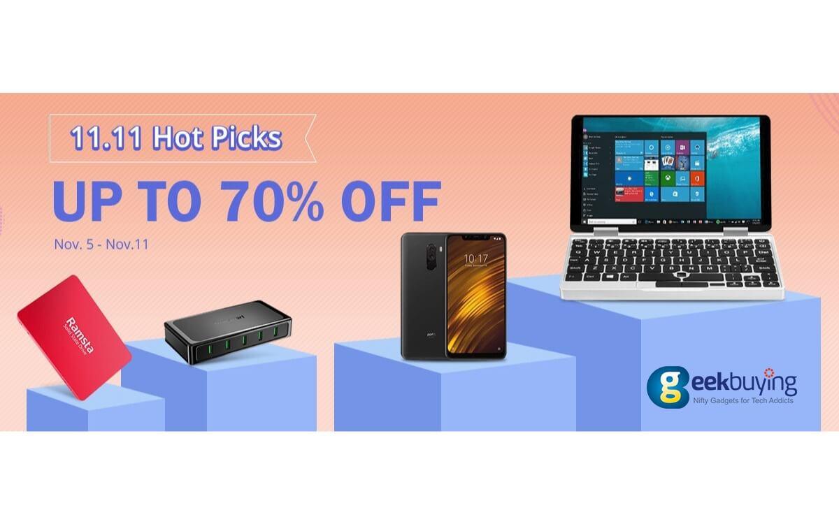 1111 geekubuying sale info-最大70%オフ!Geekbuyingで11月11日までの期間限定セールが開催中[PR]