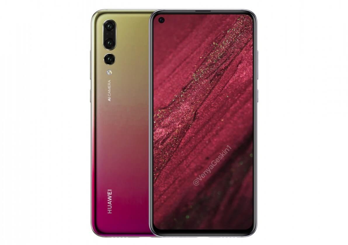 Huawei Nova4 render