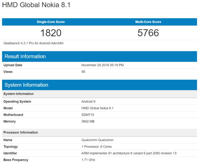Nokia-8.1-geekbench
