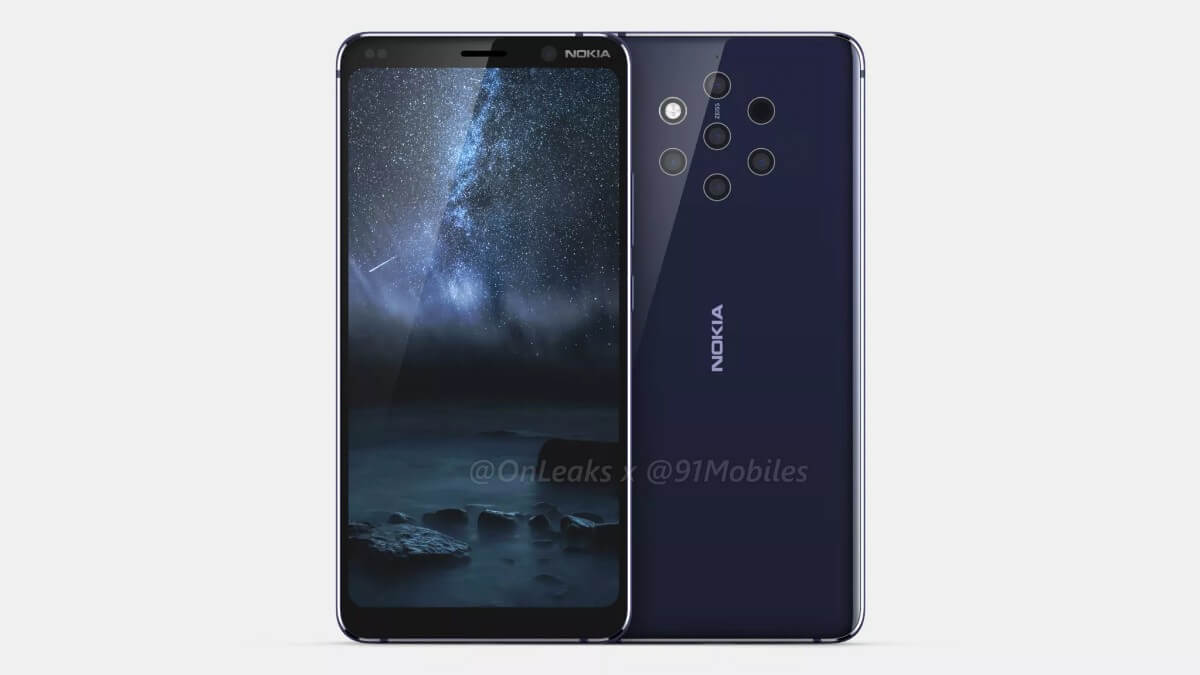 Nokia 9 leaks 01-ついに「Nokia 9 PureView」の詳細な画像と動画がリークされました!