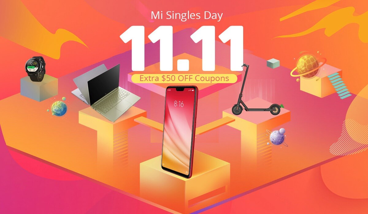 Xiaomi sale promotion mi singles day 01
