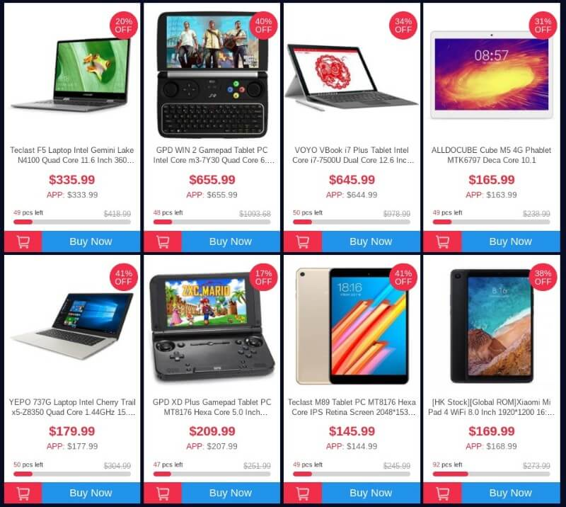 blackfriday geekbuying tablet