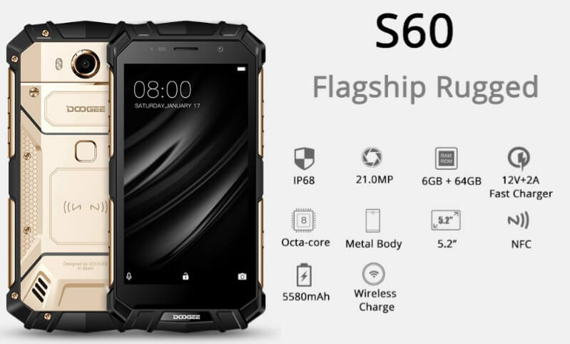 DOOGEE-S60 year-end sale image