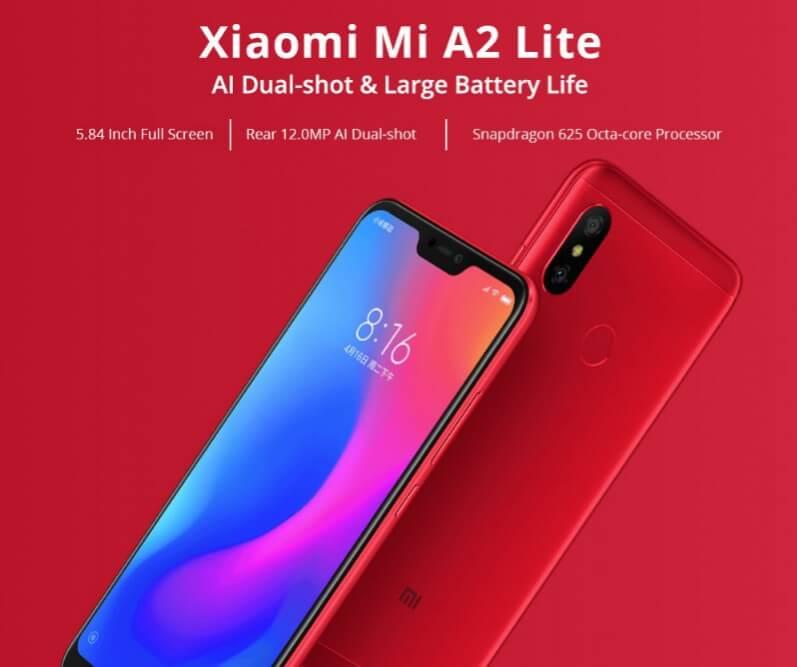 Xiaomi Mi A2 Lite-GeekbuyingでXiaomi製品がセール!「Xiaomi Deals」を開催中[PR]
