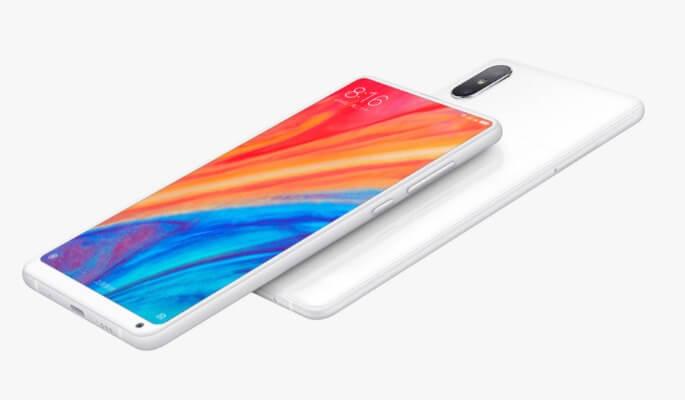 Xiaomi Mi Mix 2s white