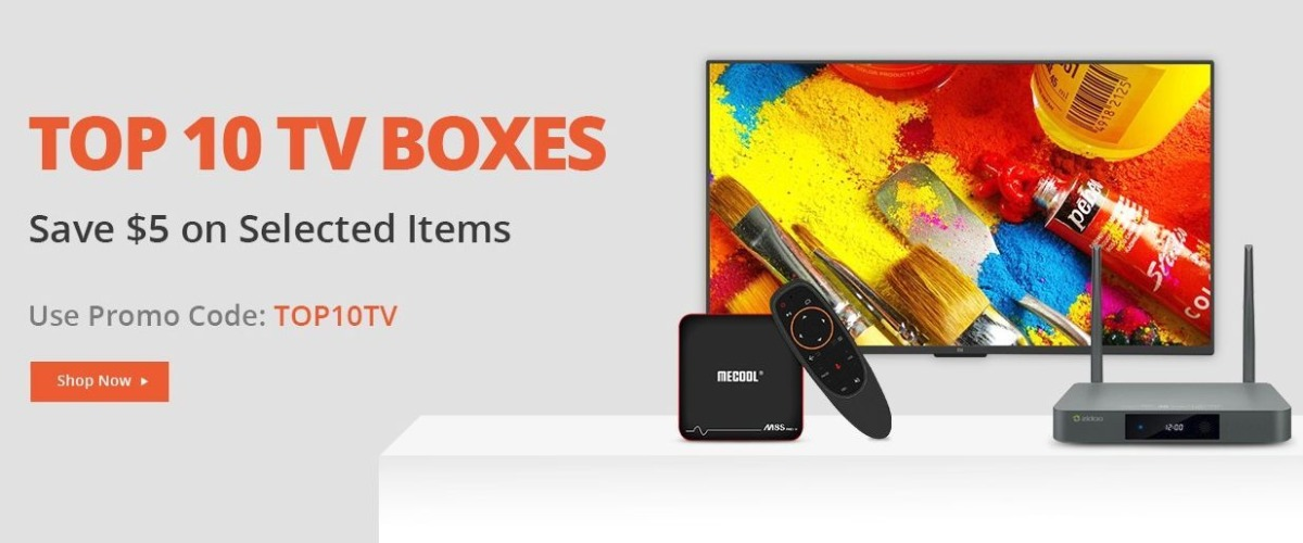 Android TV BOX coupon sale 2019-Geekbuyingで「Android TV BOX」がクーポンセール中!お得な製品も紹介[PR]