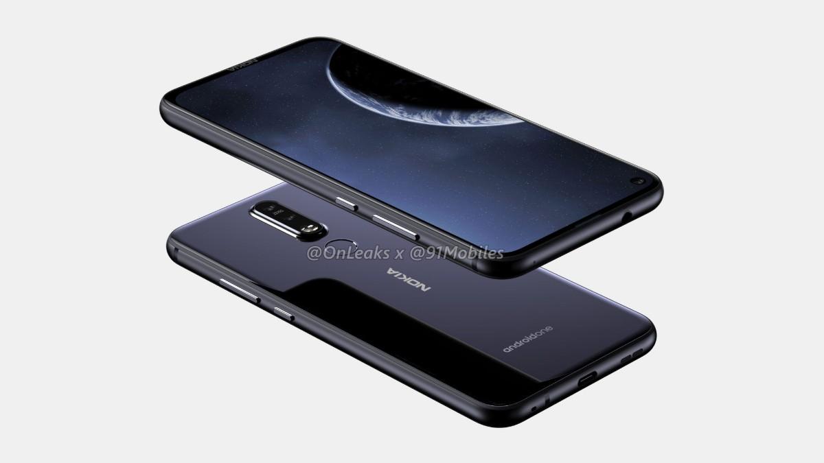 Nokia 8 1 plus render image