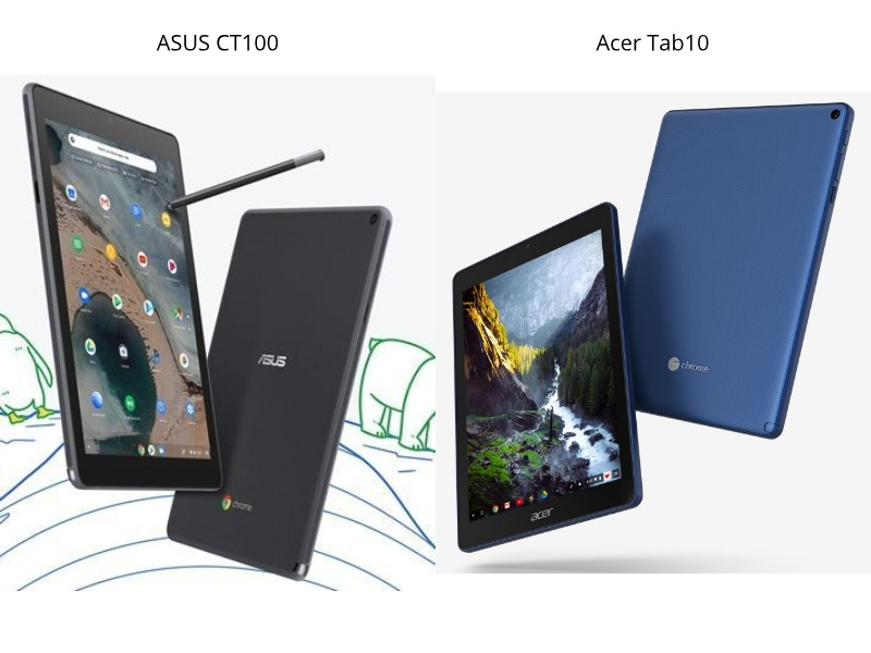 asus ct100 comp acer tab10