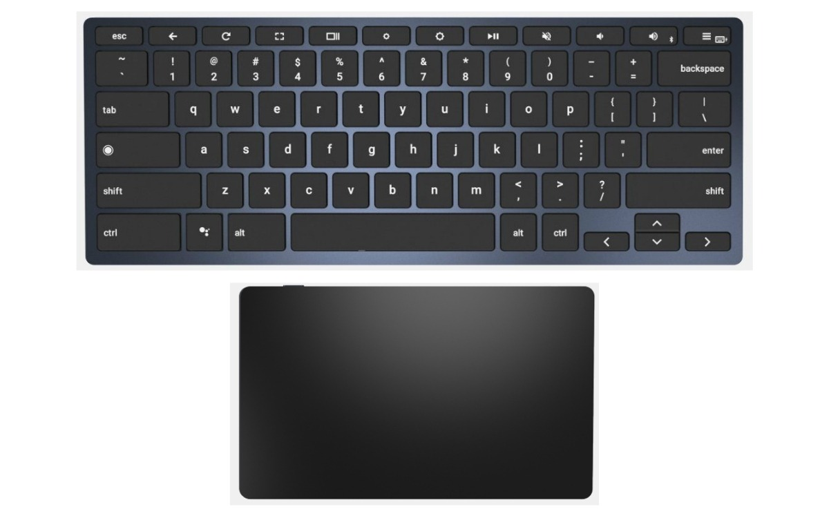 brydge chrome bluetooth keyboard touchpad