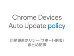 chrome device auto update policy image 240x180-Chromebook上でWindowsをデュアルブートする機能「Project Campfire」は中止となるようです