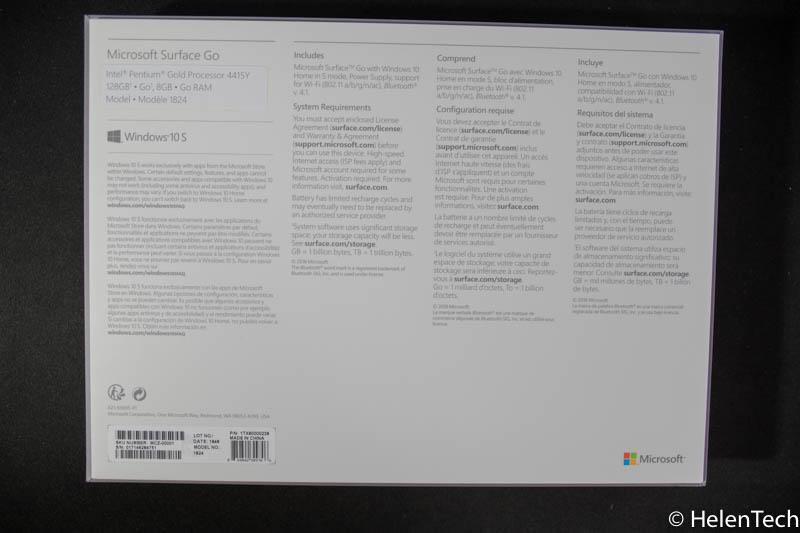 review Surface Go 04-マイクロソフトの「Surface Go」の8GBRAMモデルを購入したので遅まきながらレビューする!