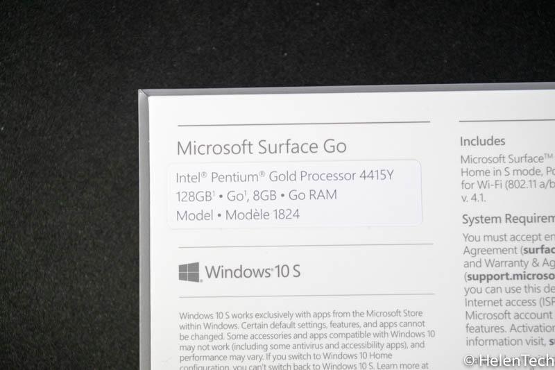 review Surface Go 05-マイクロソフトの「Surface Go」の8GBRAMモデルを購入したので遅まきながらレビューする!