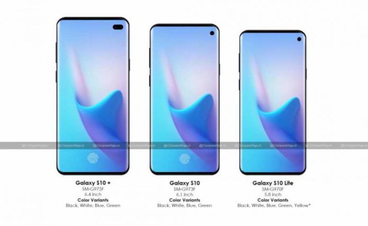 samsung s10 series details compareraja 1024x628 696x427-Samsungのフラッグシップ「Galaxy S10」に関するリークが増えてきたのでスペックをまとめる