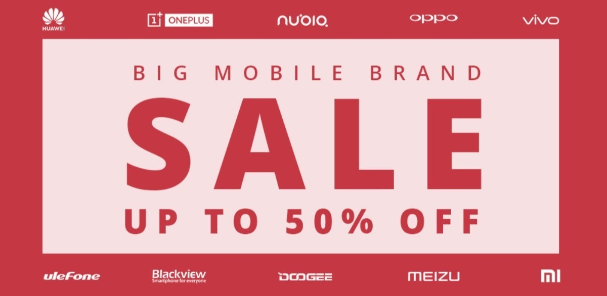 geekbuying big mobile brand sale 2019
