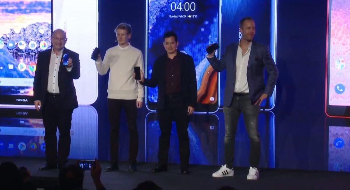 nokia mwc 2019 image-ついに「Nokia 9」が発表されました!この他に「4.2」、「3.2」、「1 Plus」、「210」もあります。
